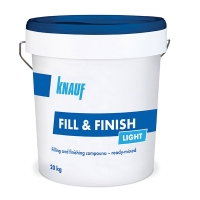 Шпаклевка KNAUF Fill & Finish Light винило-полимерная, 20 кг
